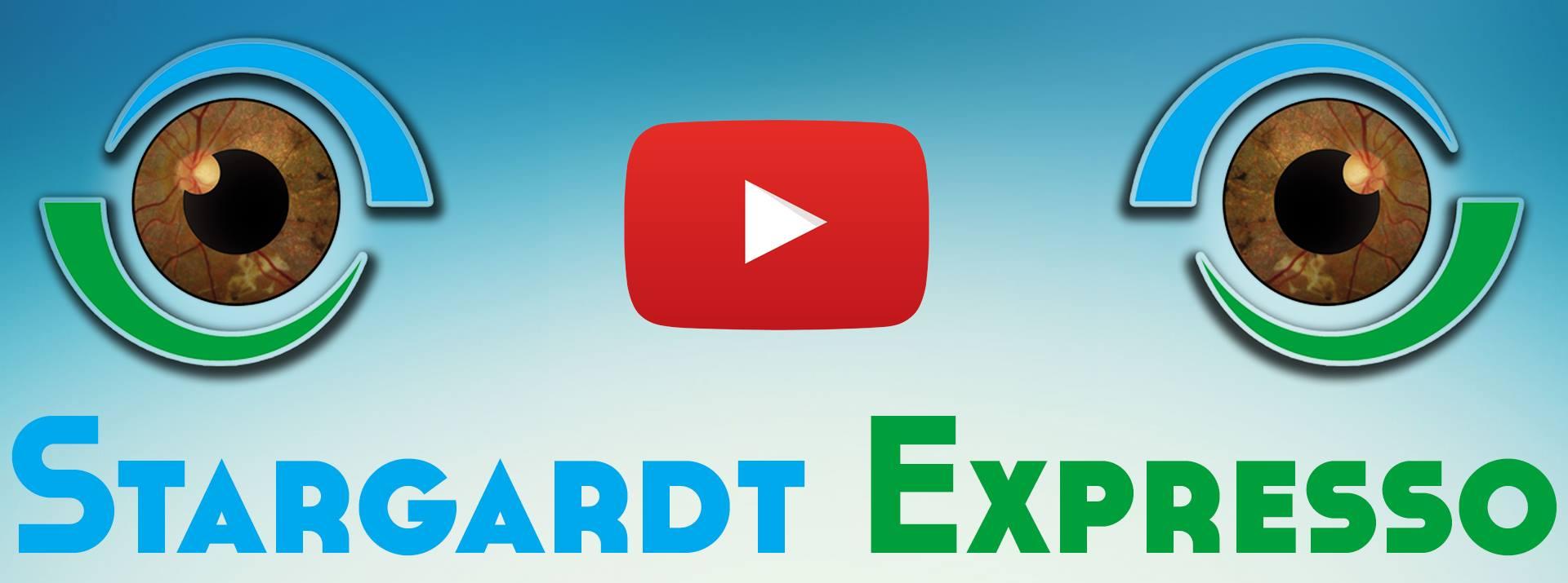 Projeto Stargardt Expresso, entre e assista aos nossos vídeos